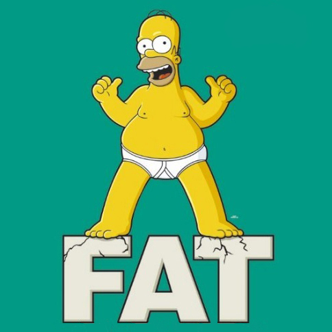 Homer fat and happy shopped final b